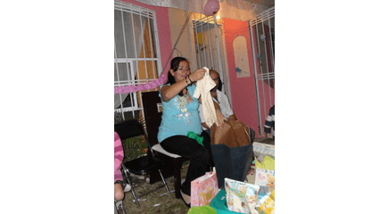 recreacionistas baby shower