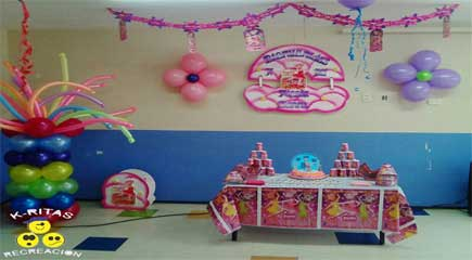 Decoracion Angelina Ballerina