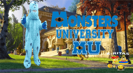Monster University Para Fiestas Infantiles