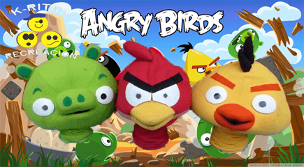 Titeres Angry Birds